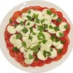 Tomato, Bocconcini & Basil Salad