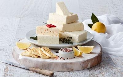 Haloumi cheese produced at the Cottage Cheese Farm Melbourne